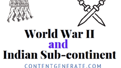 World War II and Indian Sub-Continent