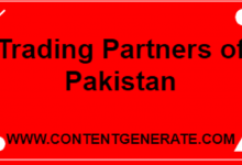 Main Trading Partners of Pakistan