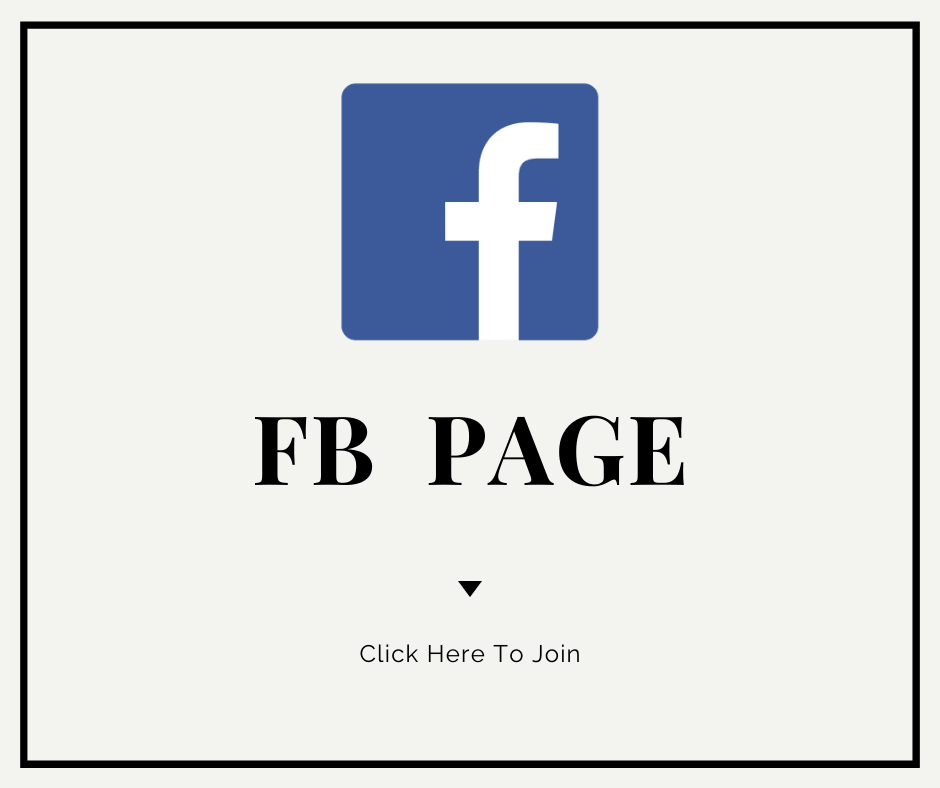 Follow our FB page for Updates