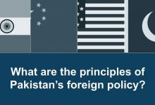 What are the principles of Pakistan's foreign policy?