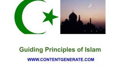 Guiding Principles of Islam