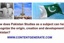 Importance of Pakistan Studies as a subject