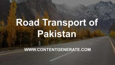 Road Transport of Pakistan