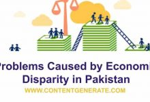 Problems caused by economic disparity