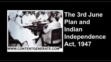 The Third June Plan and Indian Independence Act, 1947