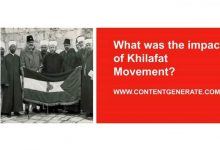 What was the impact of Khilafat Movement