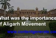 What was the importance of Aligarh Movement
