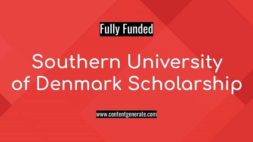 Southern University of Denmark Scholarship
