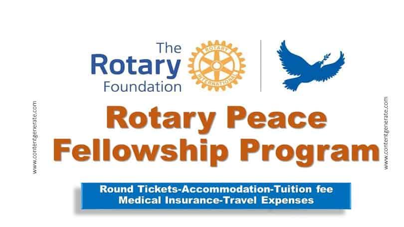 Rotary peace Fellowship program