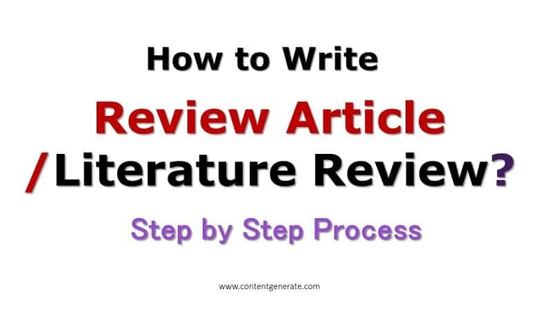 How to Write Review Article?
