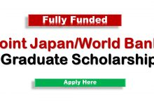 Joint japan World bank Graduate Scholarship program