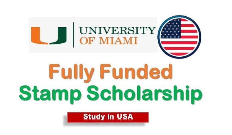 University of Miami Stamp Scholarship
