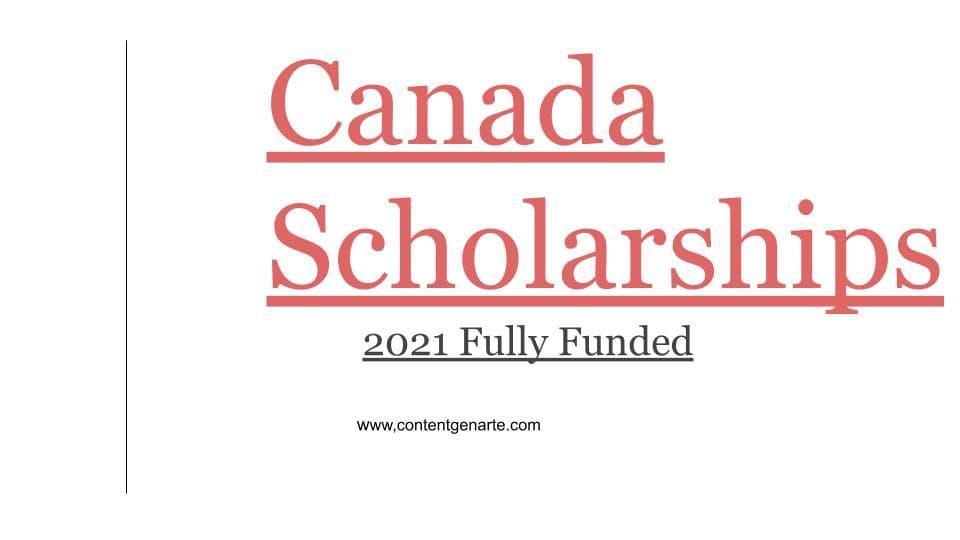 Canada Scholarships