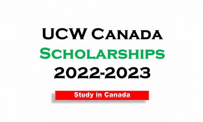 UCW Canada Scholarships 2022