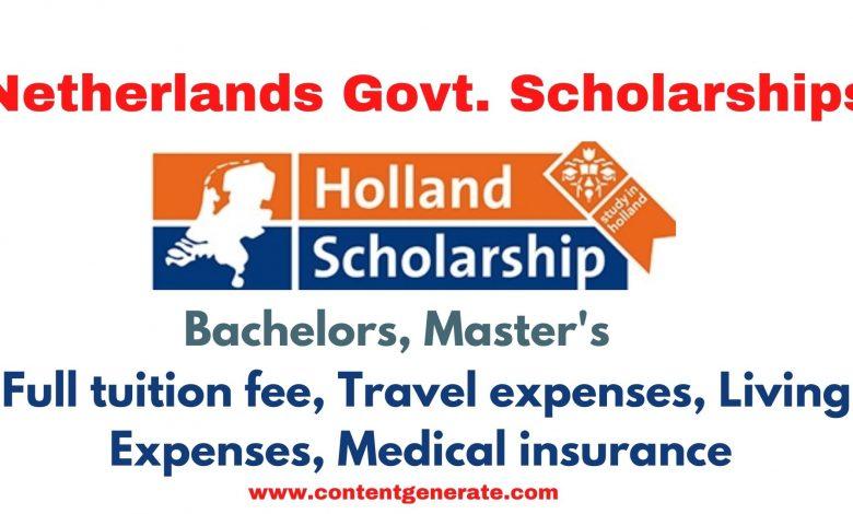 OKP Netherlands Government Scholarship