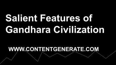 Salient Features of Gandhara Civilization