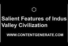 Salient Features of Indus Valley Civilization