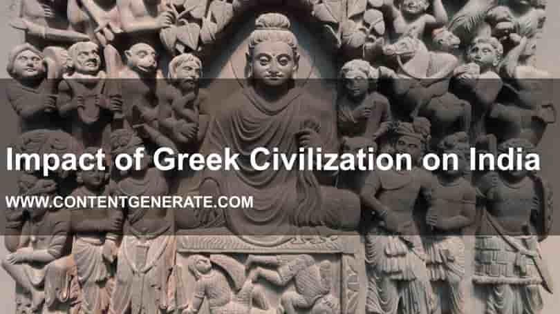 Impact of Greek Civilization on India