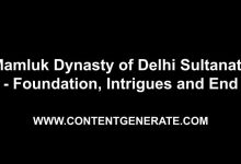 Mamluk Dynasty of Delhi Sultanate - Foundation, Intrigues and End