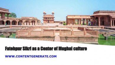 Fatehpur Sikri as a Center of Mughal culture