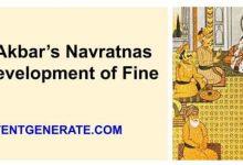Role of Akbar's Navratnas in the Development of Fine Arts