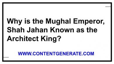 Why is the Mughal Emperor, Shah Jahan Known as the Architect King