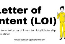 Letter of Intent (LOI)-Free Templates