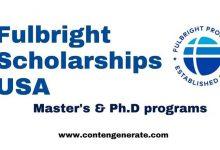 Fulbright scholarships USA